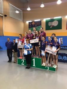 команд женщ призеры